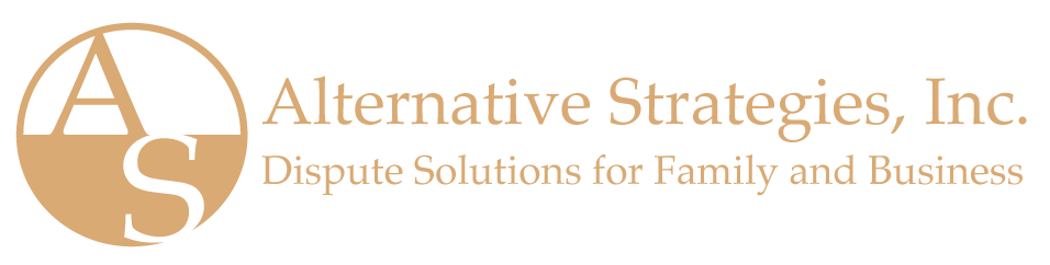 Alternative Strategies, Inc. Dispute Solutions for Family and Business